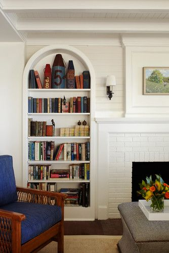 Arch Bookcase By Tom Stringer