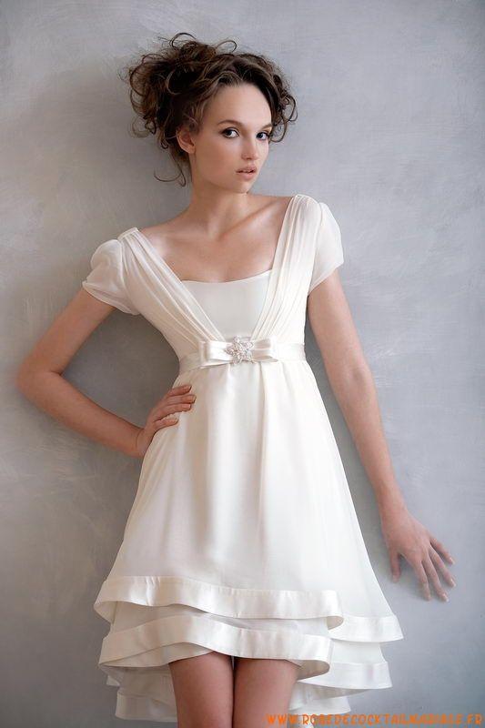 Jolie robe blanche soiree