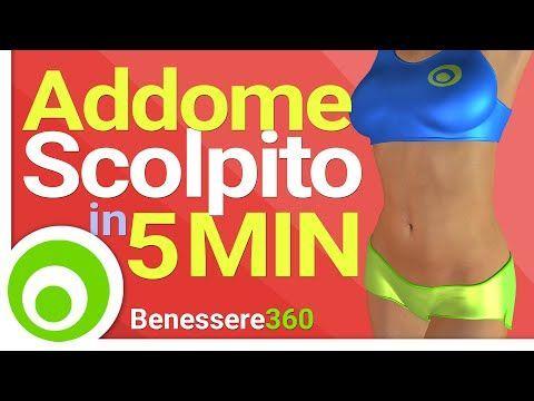 allenamento in abs da 10 minuti in piedi per perdere il grasso della pancia