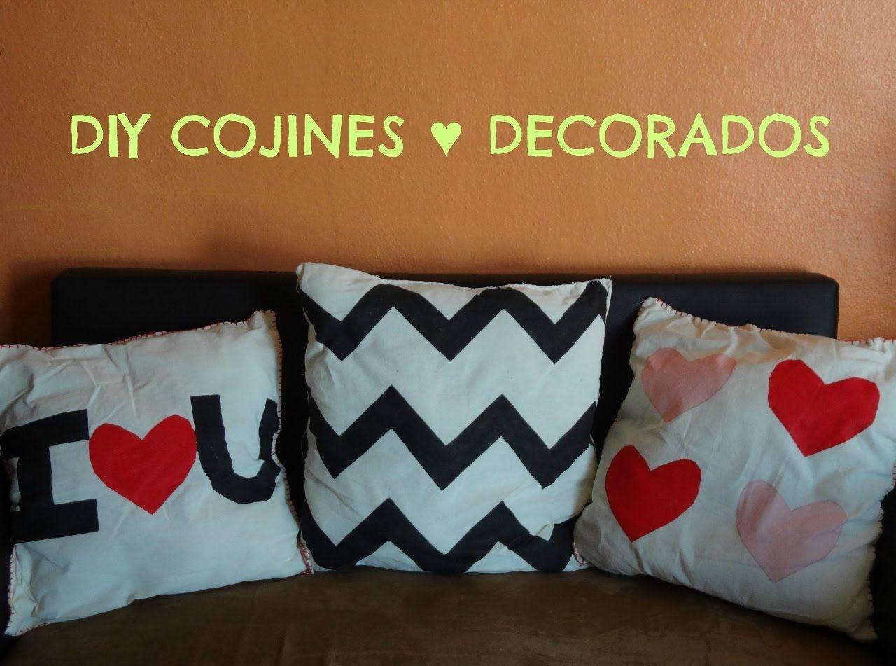 Como hacer cojines decorativos modernos de tela a mano - Como hacer lazos decorativos ...