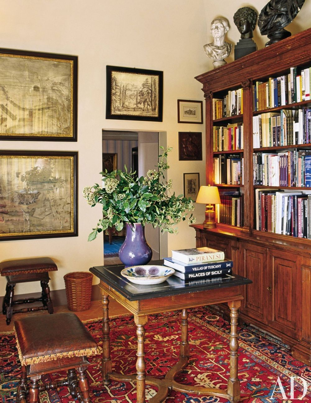 Classic Home Library Design: Traditional Office/Library By Mlinaric, Henry And