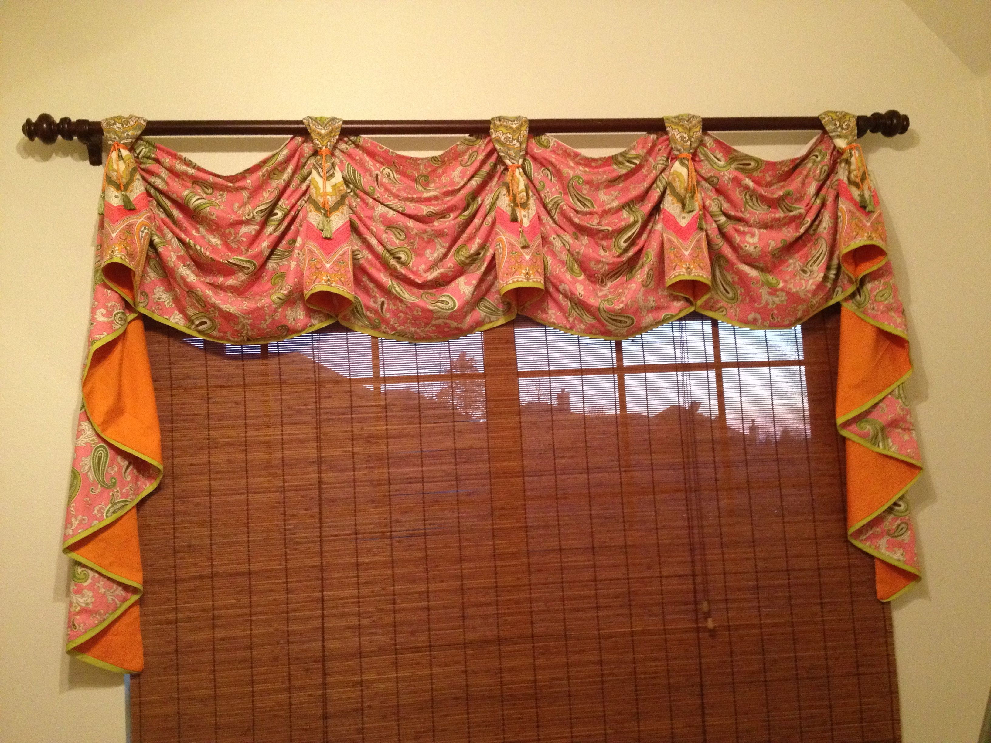 Valance from house of hathorn curtains and valances pinterest
