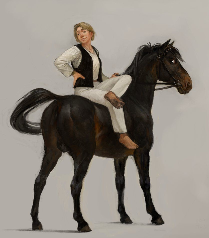 http://zionka.deviantart.com/art/Zion-and-her-stallion-Bosfor-353907694