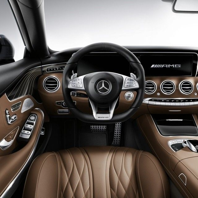 As Plush As The Interior Of The All New S65 Amg Coupe Is