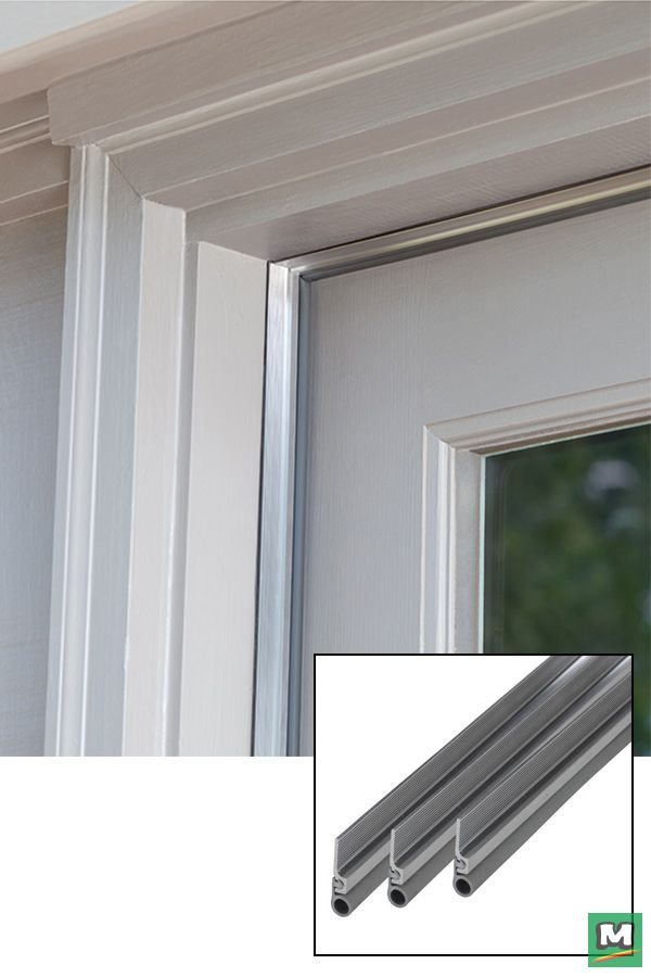 Charmant Insulate Drafty Doors With This Cinch™ Door Jamb Kit. By Creating An  Airtight Seal