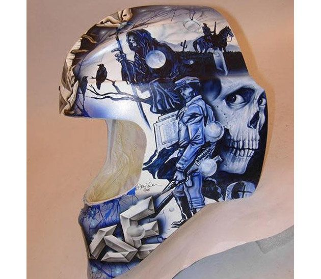The Seven Hollywood movie-inspired goalie masks we seriously dig ...