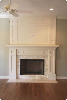 Great idea to expand above existing mantel. All we need to add is ...