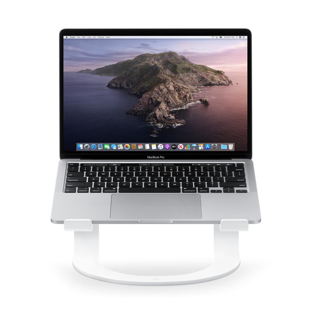 Twelve South Curve Stand For Macbook White In 2020 Macbook White Macbook Aluminium Design
