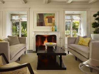 French Doors On Either Side Of Fireplace Everything Home