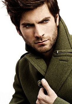 Some men just get hotter with a beard. Wes Bentley is one of them!