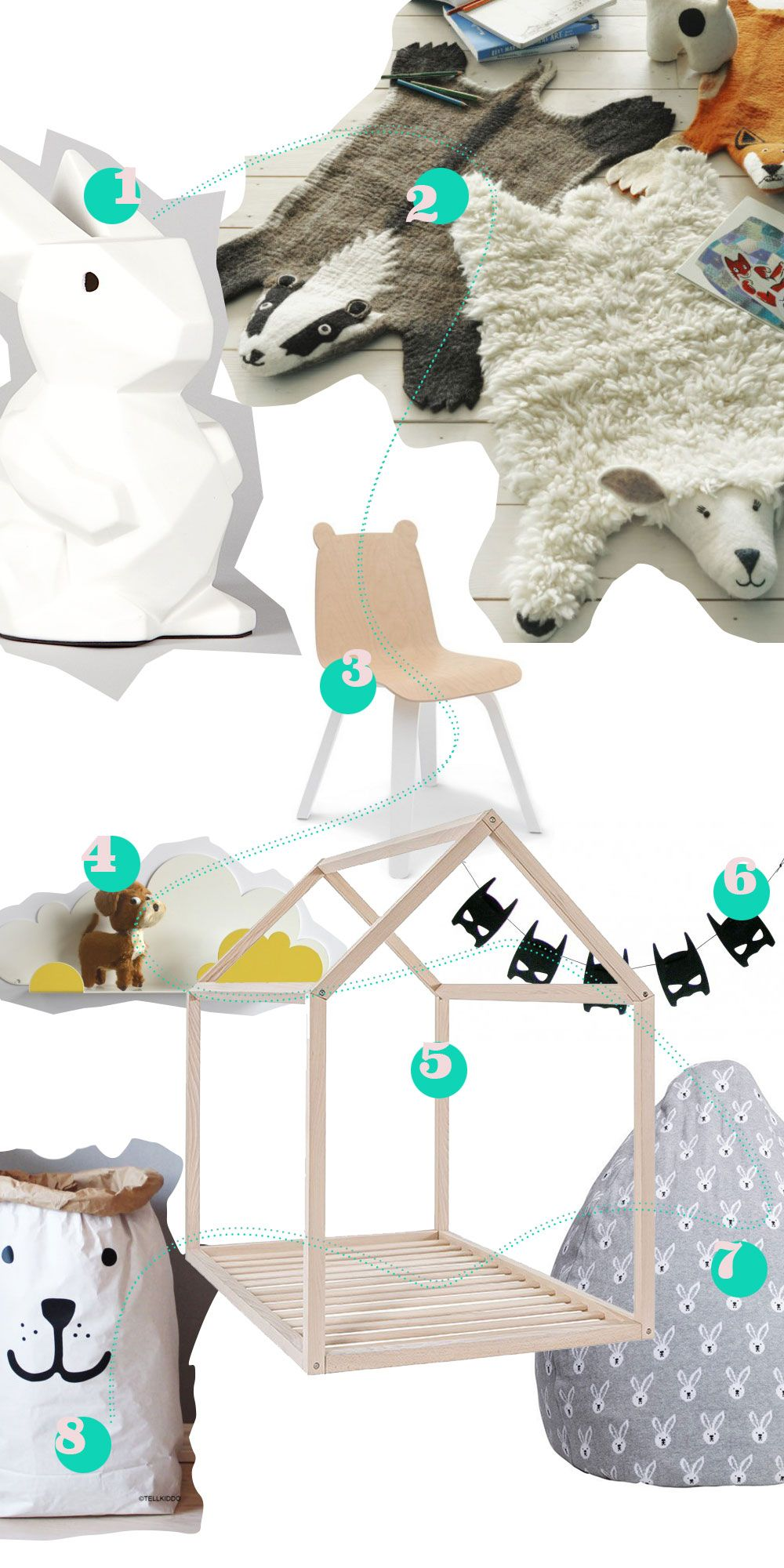 Kinderzimmer: Wir lieben Accessoires | Kidsroom, Kids rooms and Room