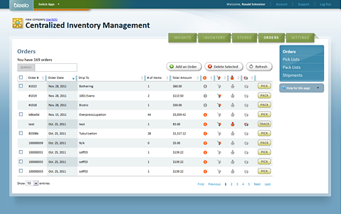 Bizelo Tracking Software Inventory Online Apps