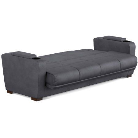 Futon Sofa Sleeper With A Storage Area