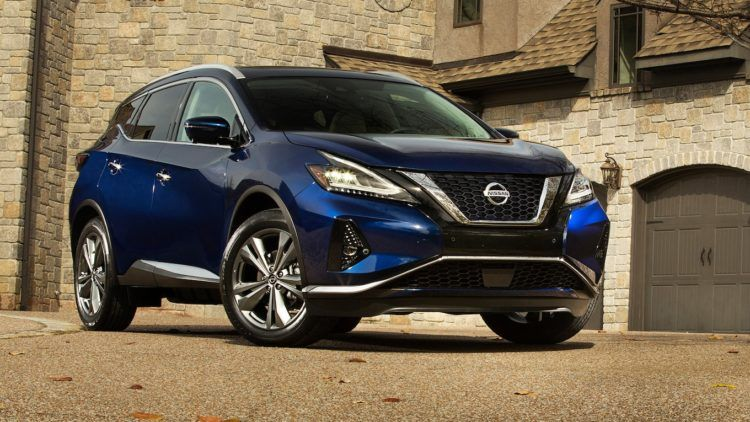The Top 20 Midsize SUVs for 2019 Nissan murano, Nissan