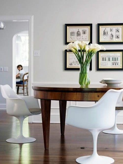 Come abbinare tavolo antico e sedie moderne Arredamento