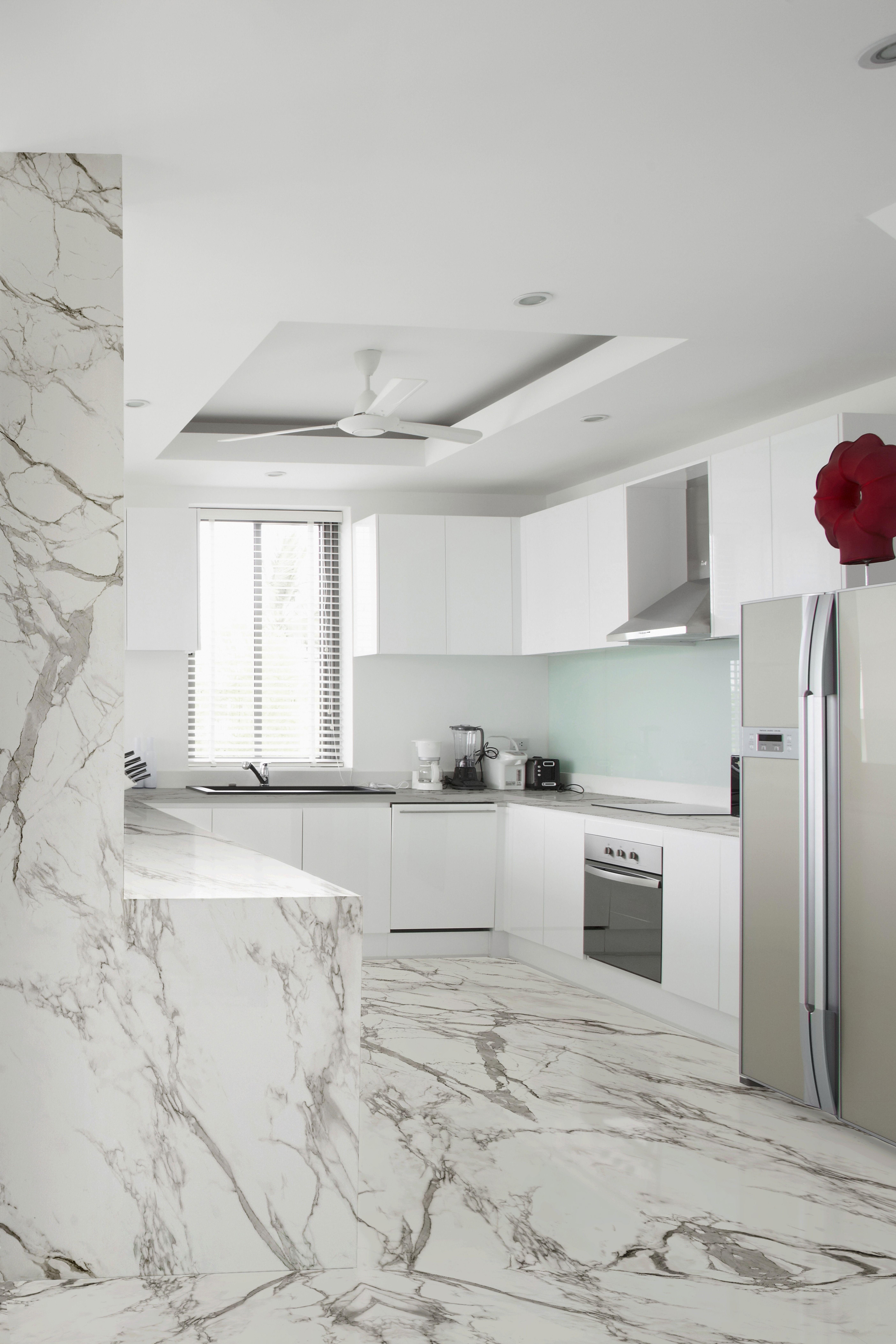Dekton Aura15 Cosentino White Marble Kitchen Kitchen Marble Vinyl Flooring Kitchen