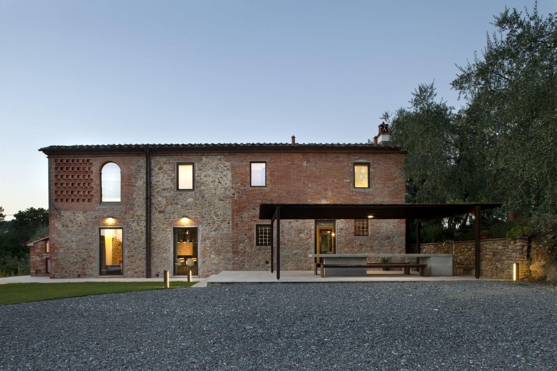 Gallery of country house renovation mide architetti 14 for Case realizzate da architetti