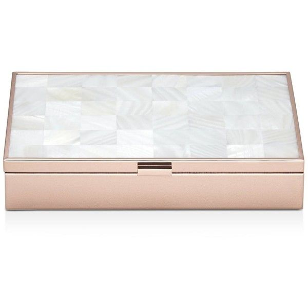 Reed Barton MotherofPearl Gold Jewelry Box 175 liked on
