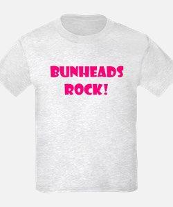 """Bunheads Rock!"" Kids T-Shirt for"