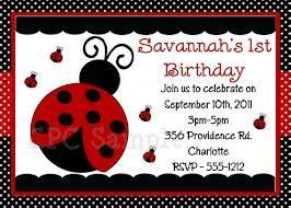 Ladybug invitation design ideas google search free ladybug ladybug birthday party invitation printable or printed ladybug party supplies party decorations birthday shirt filmwisefo