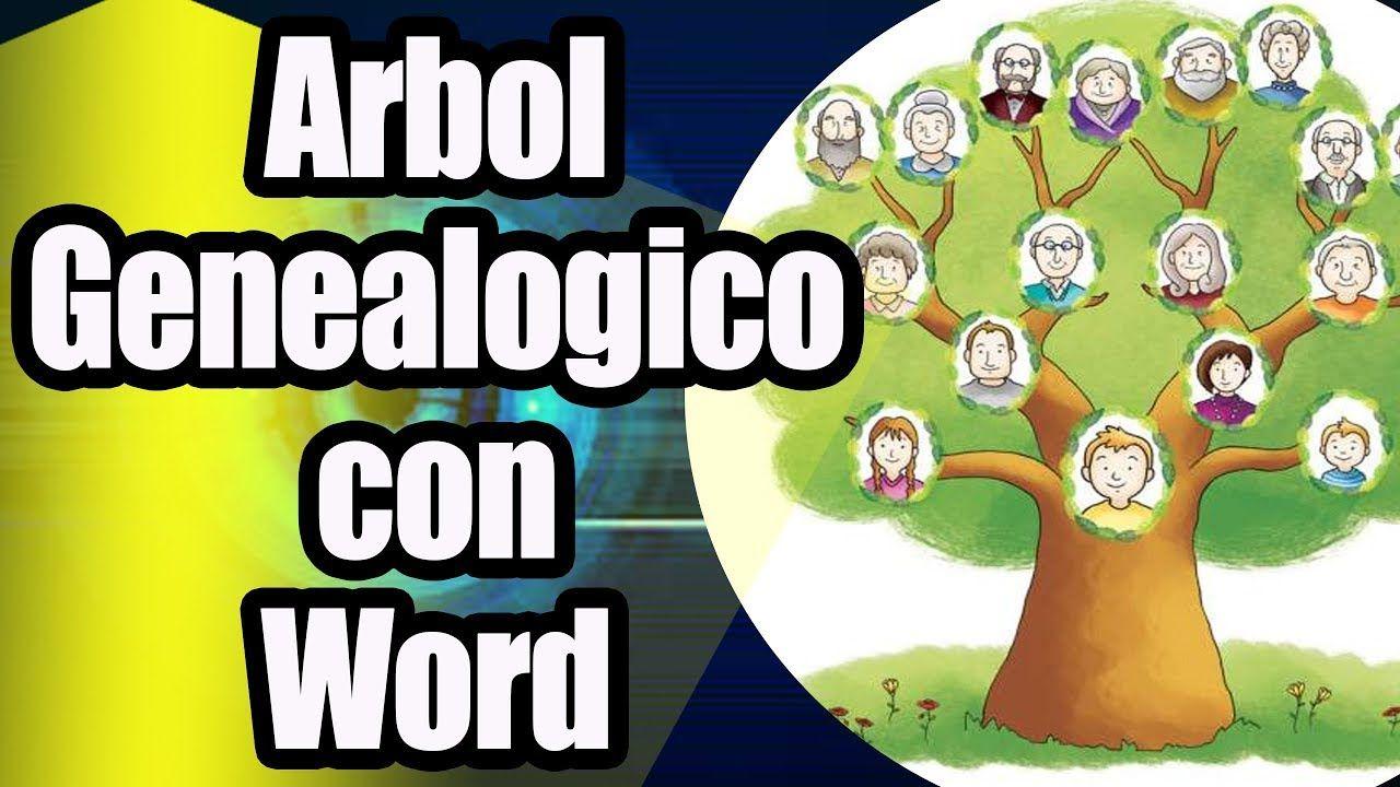 Como Hacer Un árbol Genealógico En Word Arbol Genealogico Arboles Cómo Hacer