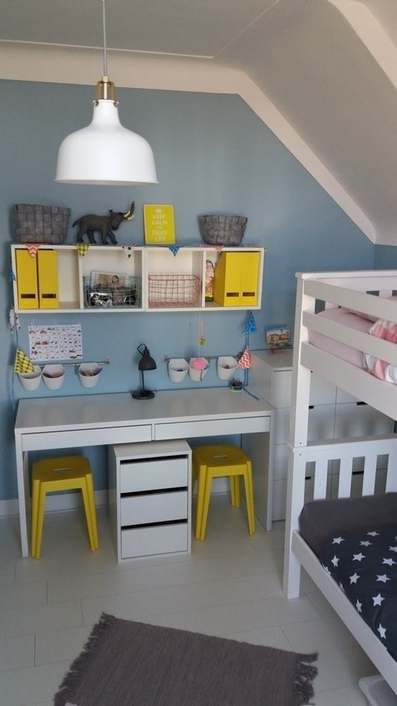 Kids Study Room Design: 32 How To Help You Organize Your Child's Study Room (With
