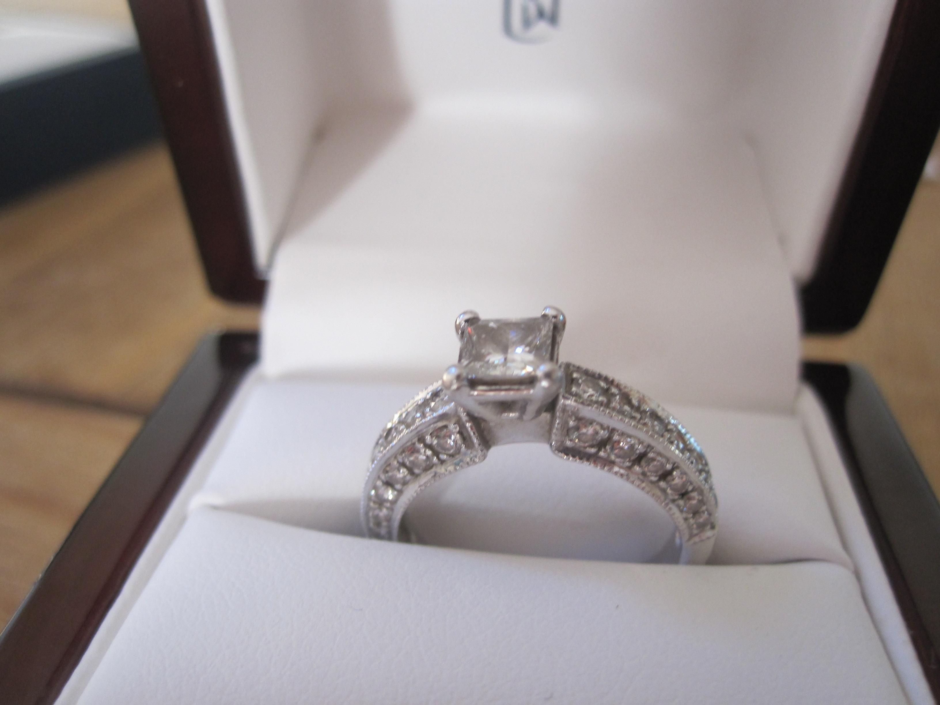 Engagement Ring In A Box 24