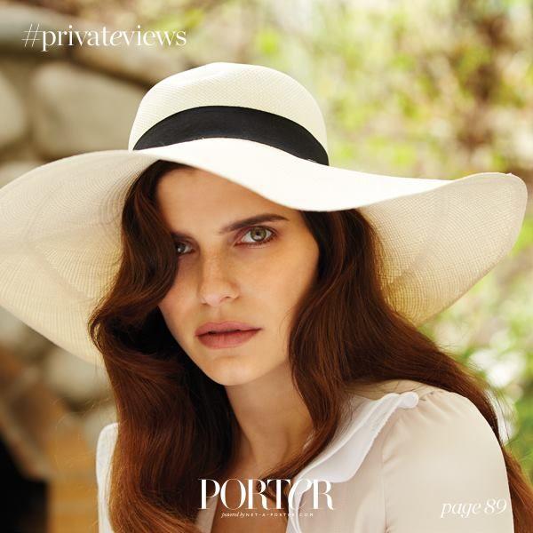 Lake Bell for Porter magazine 2015 #hats