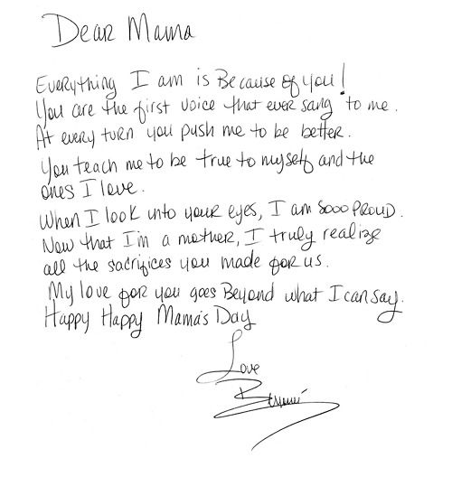 letter to mom from teenage daughter