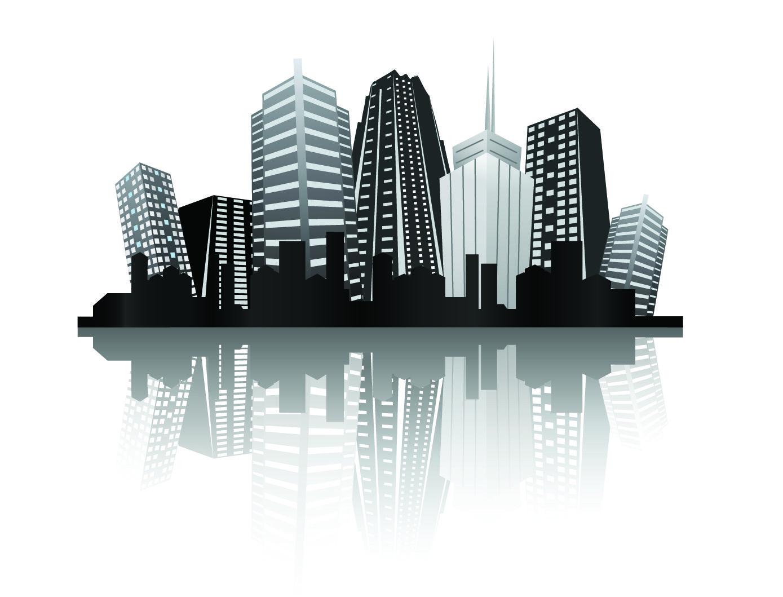 Black with white city building design vector also prasahnt barsing pbarsing on pinterest rh