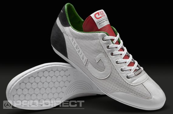397fc363c3 Cruyff Vanenburg Italy - Mens Shoes - Players Lounge - White-Green-Red