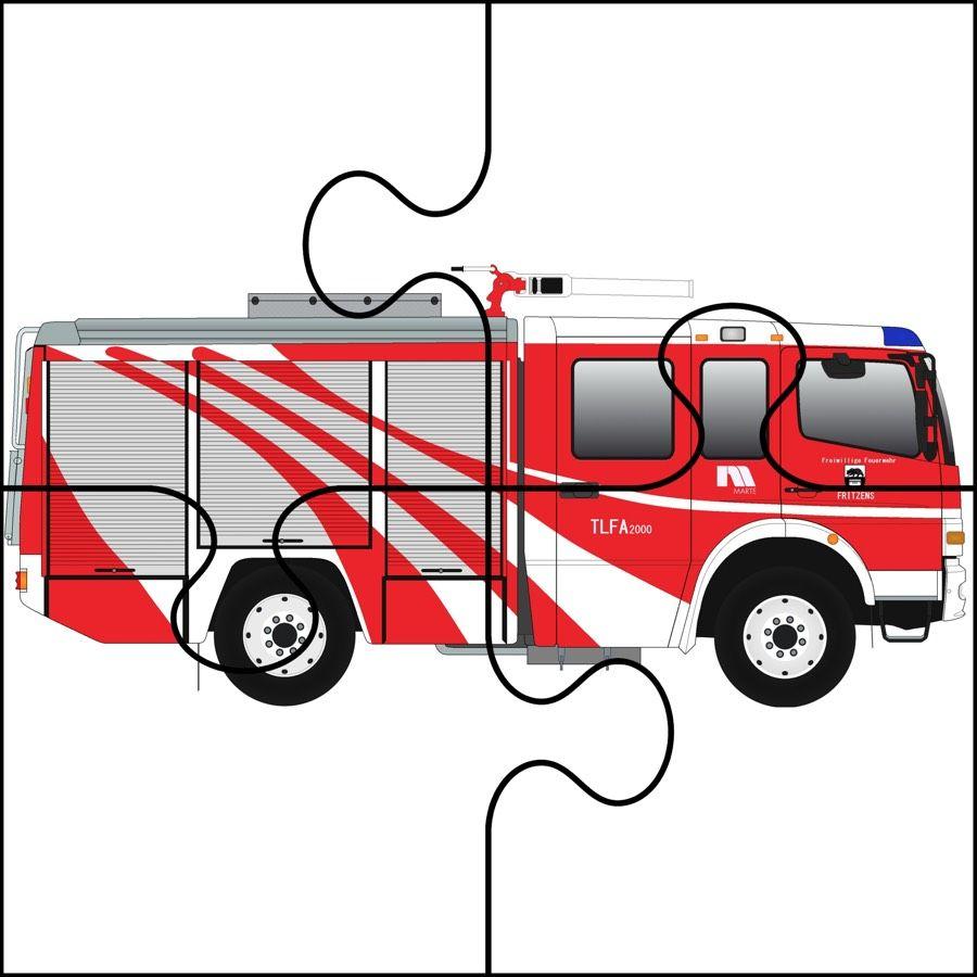 Dzien Strazaka Puzzle Latwe Dzien Strazaka Maj Puzzle Do Wycinania Swieta I Pory Roku Wycinank Community Helpers Preschool Fire Safety Theme Community Helpers