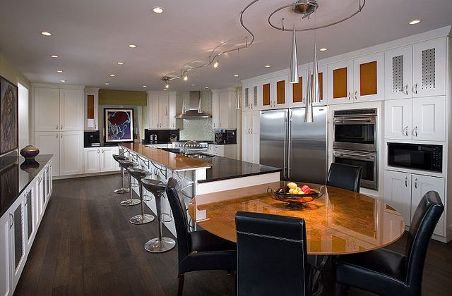 untitled hardwood floors in kitchen kitchen redo on kitchens that ll make you want to redo yours id=86083