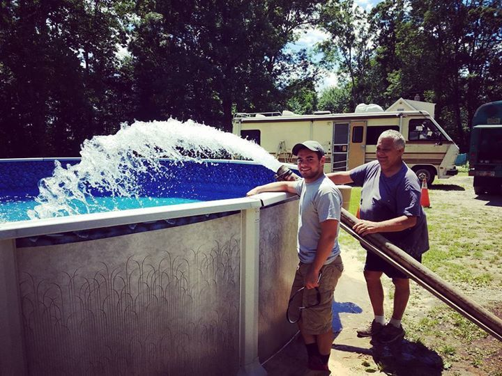 Look At These Happy Customers Just Ask Them What The King Can Do For You 1 862 236 3555 Royalprice Family Friends Water Water Delivery Swimming Pools Pool