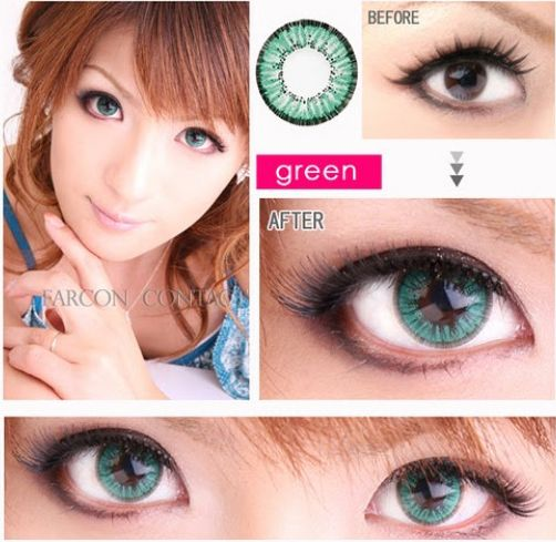 The Most Natural Color Contacts