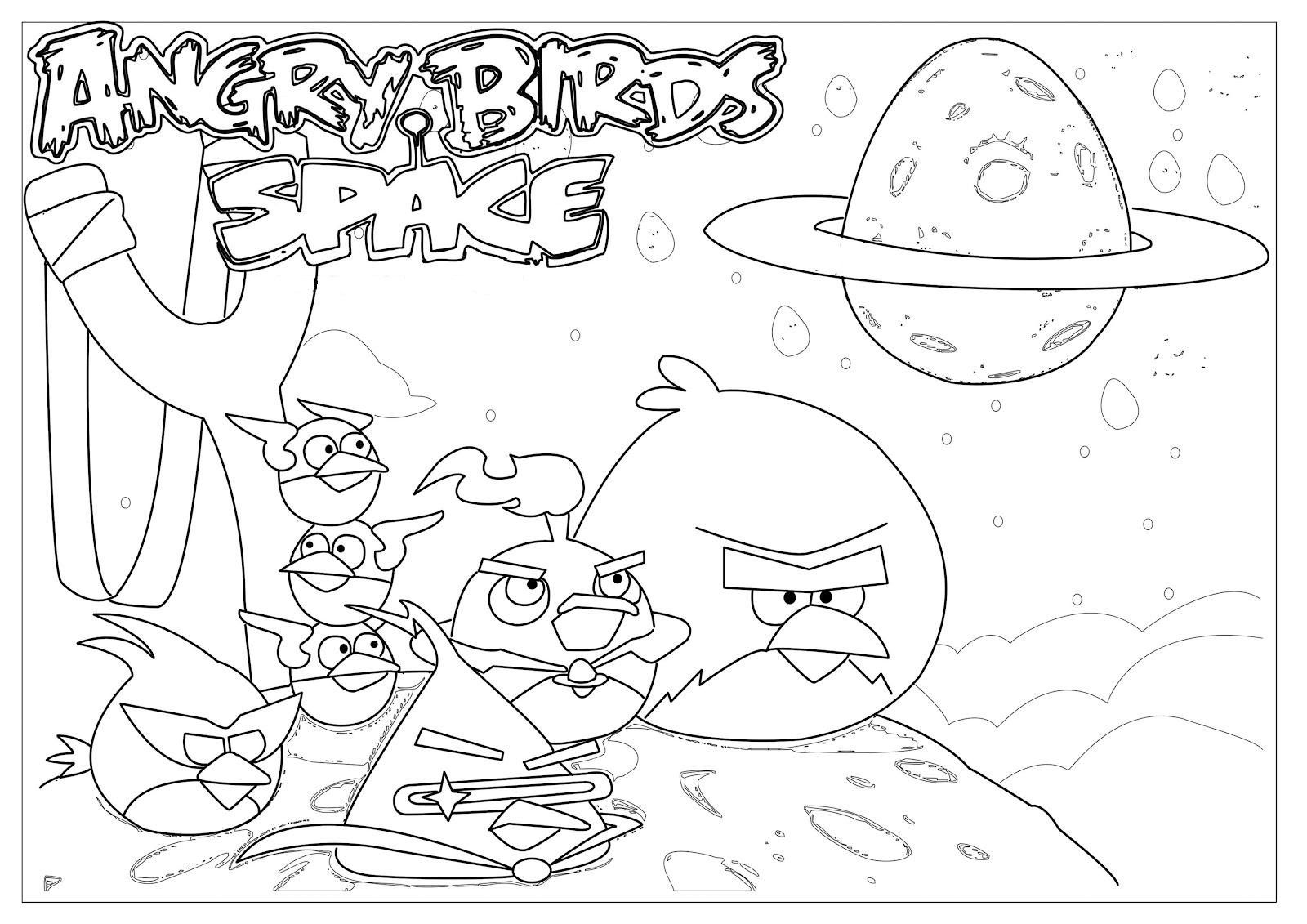 Målarbilder Angry Birds 5 Målarbilder Pinterest Angry Birds