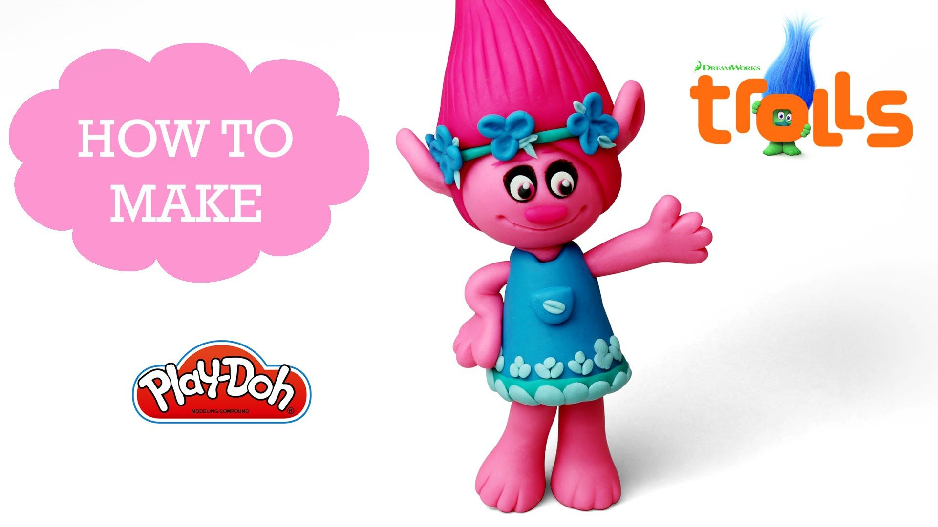 Characters of dreamworks d dreamworks animation photo pictures to pin - Play Doh Making Princess Poppy In Trolls Dreamworks Animation Trolls Is An Upcoming 2016 American