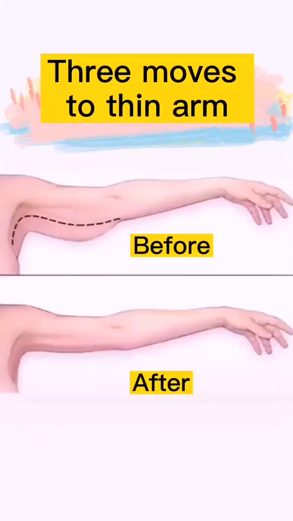 Three Moves To Thin Arm At Home