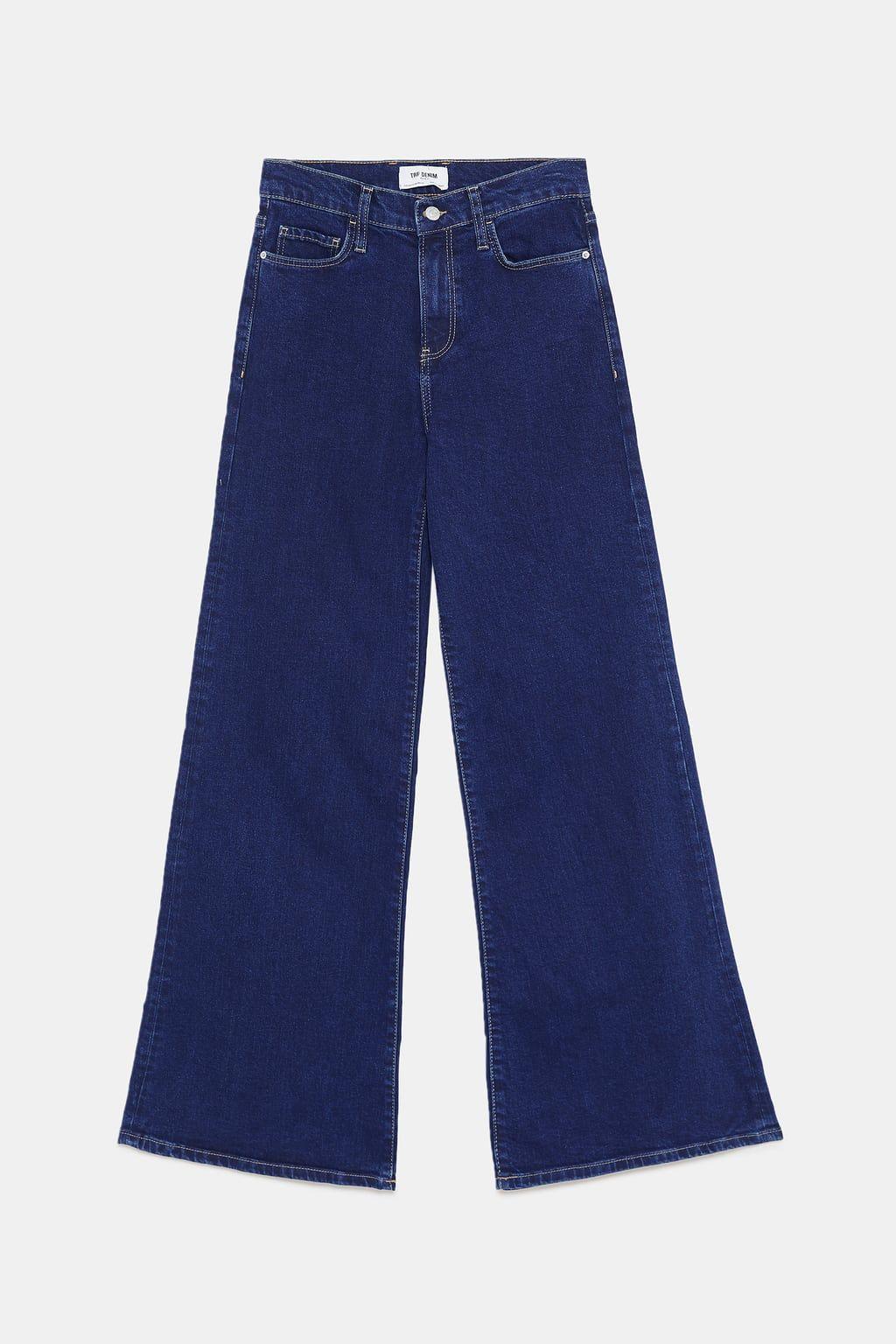 economico per lo sconto 95d00 65eef Hi-rise palazzo jeans in 2020   Jeans, Zara, Fashion
