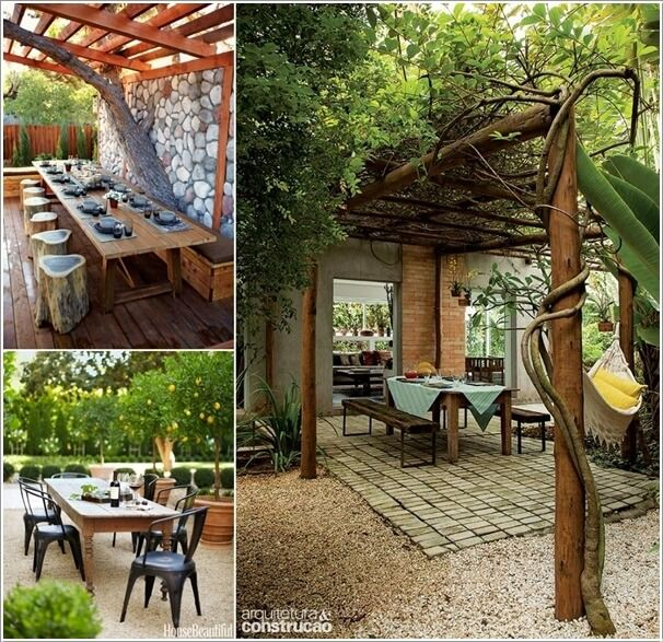 Wonderful Outdoor Dining Area Design And Decorating Ideas: 10 Cool Outdoor Dining Room Floor Ideas A In 2019