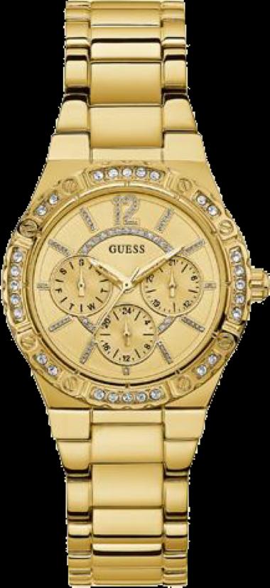 b3105f5fa37 92662LPGSDA1 Relógio Feminino Guess Dourado Multifunção