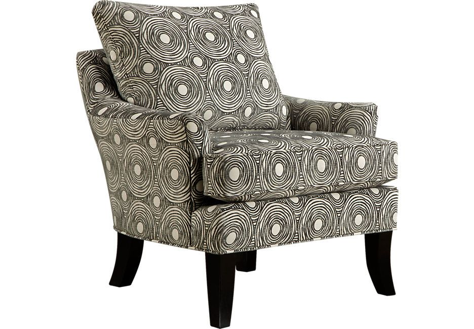 Gecko Graphite Accent Chair Accent Chairs Gray With Images