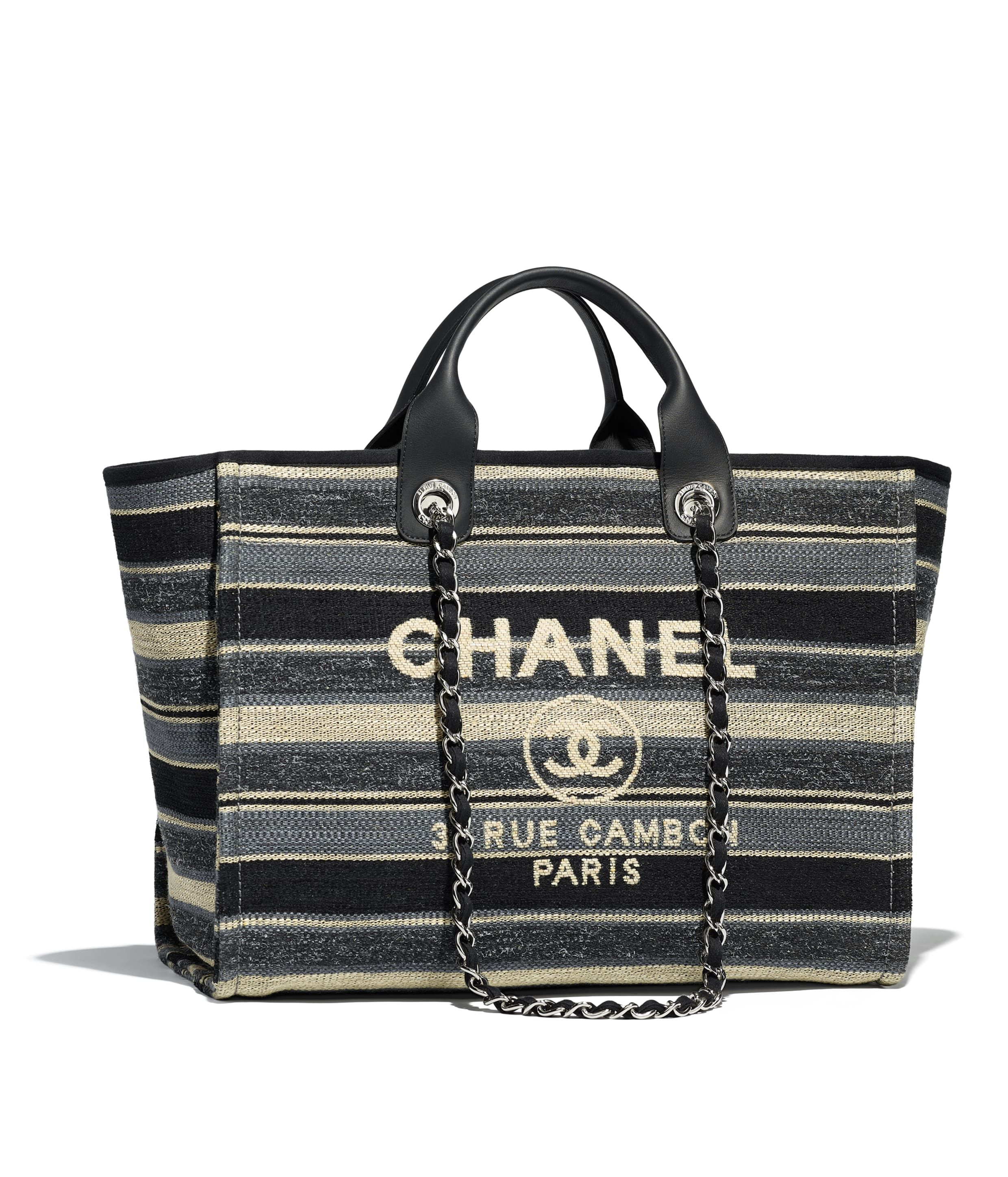 a3a704302652 Shearling Lambskin, Calfskin & Silver-Tone Metal Green Maxi Shopping Bag |  CHANEL