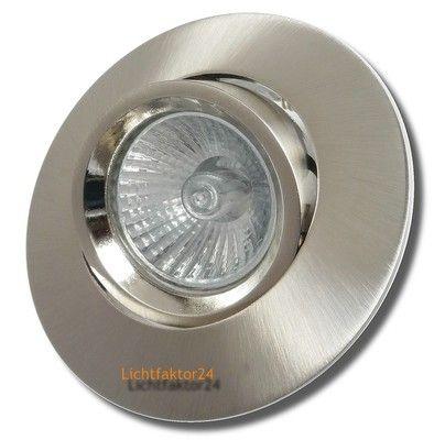 Halogen Decken Einbaustrahler - Ronja - 230Volt Downlights - 2o, 35 oder 50W LM.