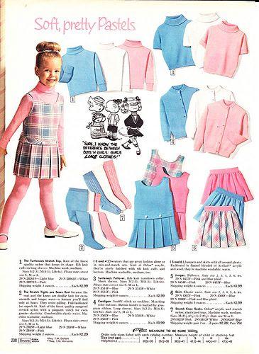 1968 Sears Wish Book 238 Vintage Kids Fashion Childrens Fashion
