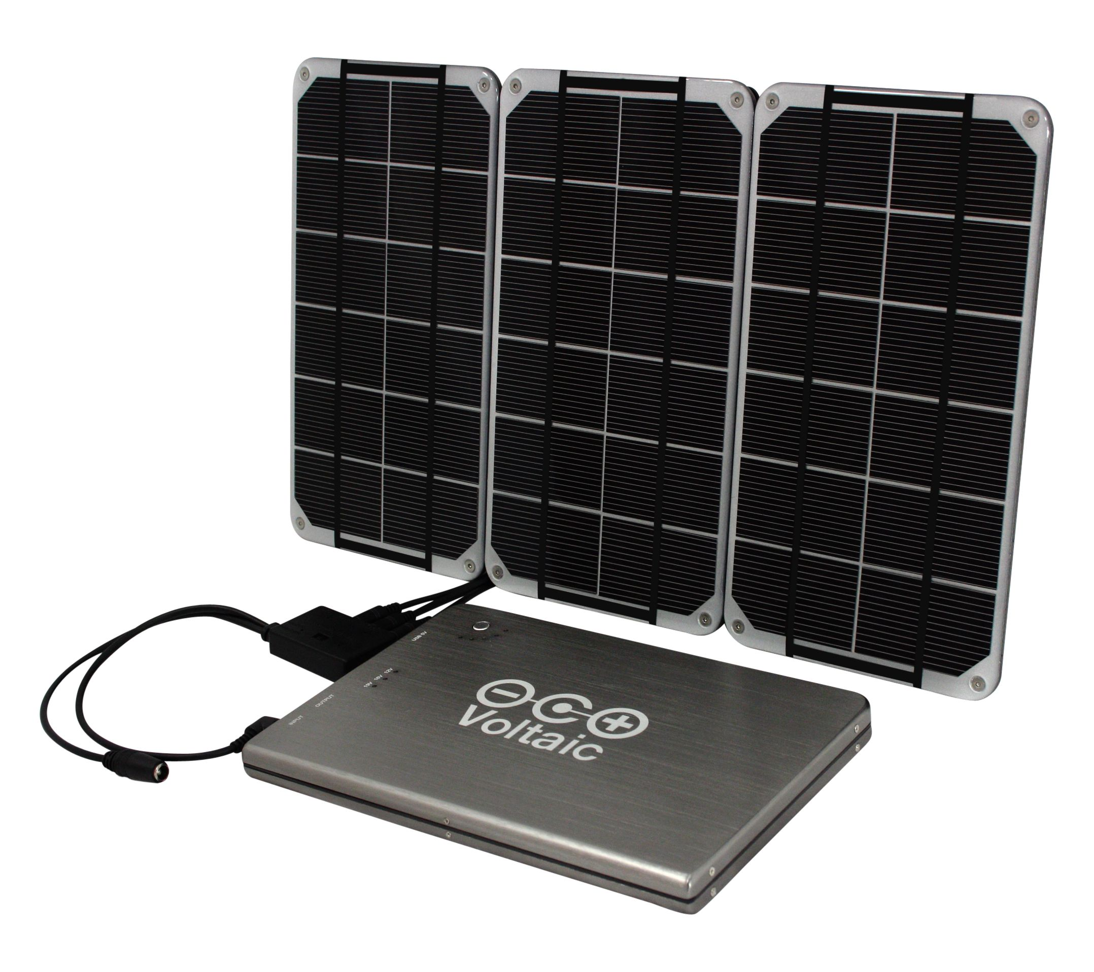 10 Watt Solar Charger Kit Three Rugged Lightweight And Waterproof Solarpanels Combine To Output 10watts At Solar Panel Kits Solar Kit Solar Panels