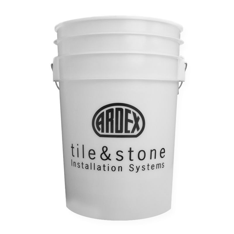 Ardex 6 White Gallon Bucket Bucket Gallon Stone