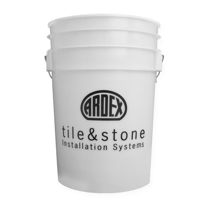 Ardex 6 White Gallon Bucket Bucket Gallon Stone