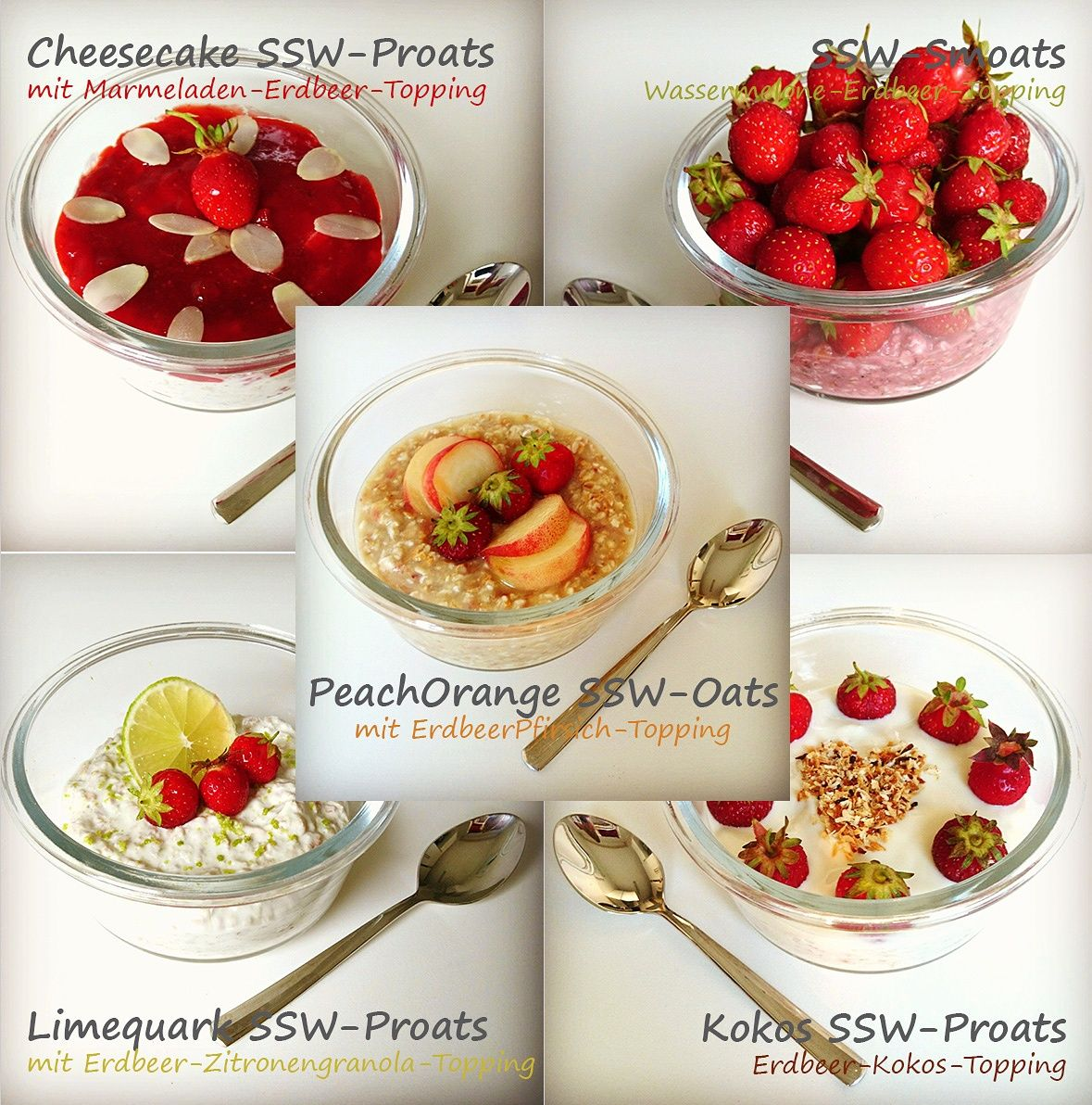Sweetstrawberry Week Overnight Proats 1 5 Erdbeeren Kokos Ssw