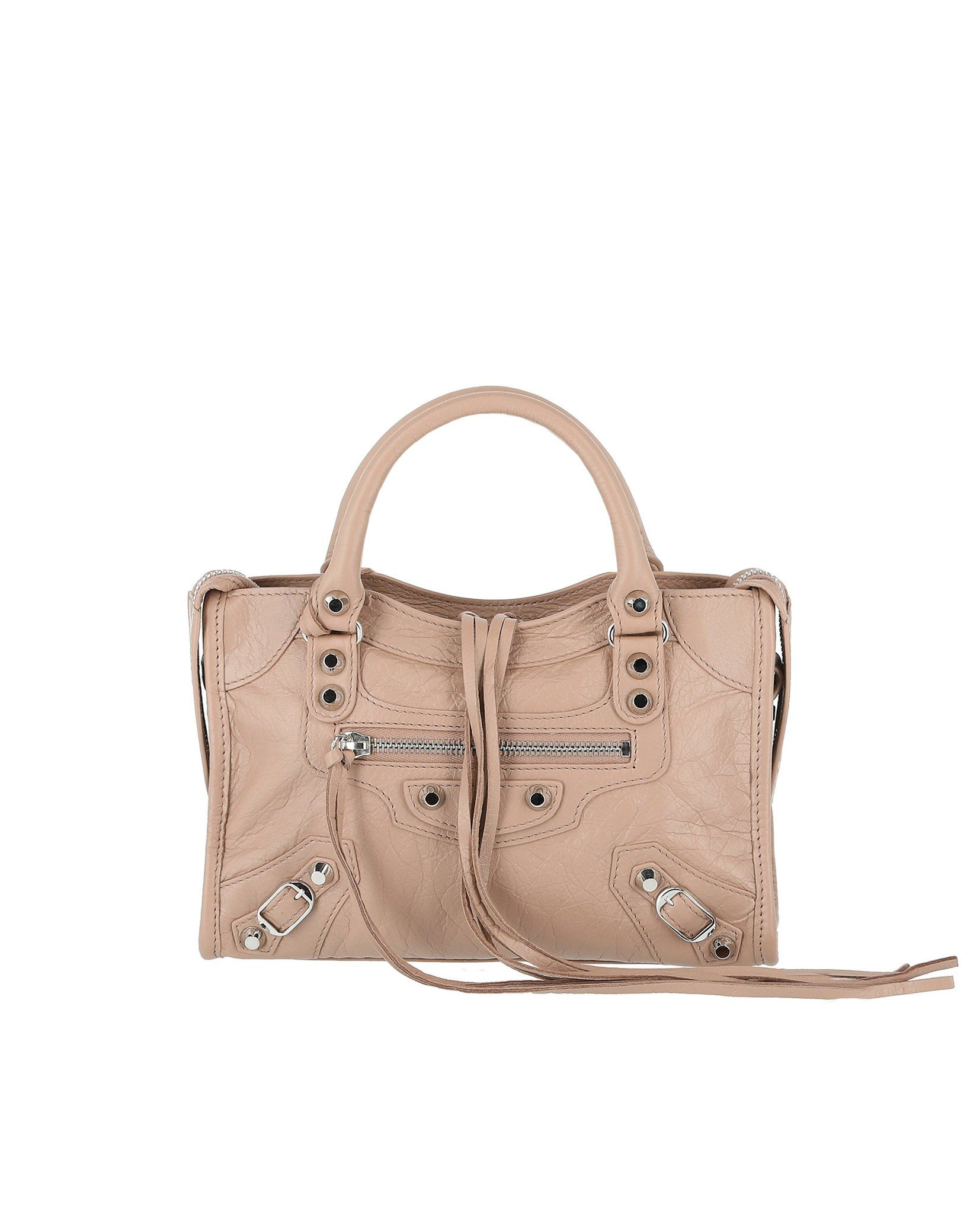 Balenciaga Women s Classic Gold Mini City Shoulder Bag  7de8b883c4